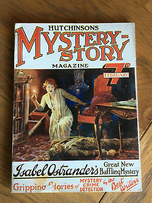 Hutchinson's Mystery Story Magazine - FIRST ISSUE - February 1923 VERY RARE