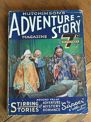 Hutchinson's Adventure Story Magazine - FIRST ISSUE - September 1922 VERY RARE