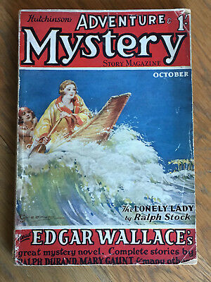 Hutchinson's Adventure Mystery Story Magazine - FIRST ISSUE - October 1927