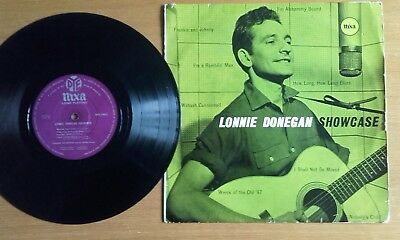 Lonnie Donegan,- Showcase Npt 19012 Uk 1956 ( Press Variation) Vgc.