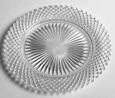 Anchor Hocking MISS AMERICA CLEAR Salad Plate 7267025