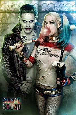 Suicide Squad Joker and Harley Quinn  Maxi Poster 61cm x 91.5cm new and sealed
