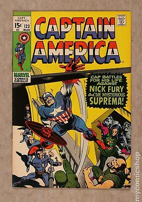 Captain America (1968 1st Series) #123 FN- 5.5