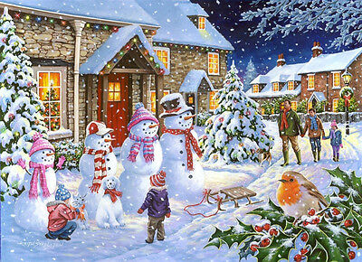 The House Of Puzzles - 1000 PIECE JIGSAW PUZZLE - Snow Family