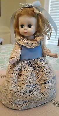 "Vintage MADAME ALEXANDER - KINS 8"" BENT KNEE WALKER DOLL Blonde WENDY"