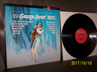 George Jones LP George Jones' Greatest Hits Vol. II - 1965 RELEASE