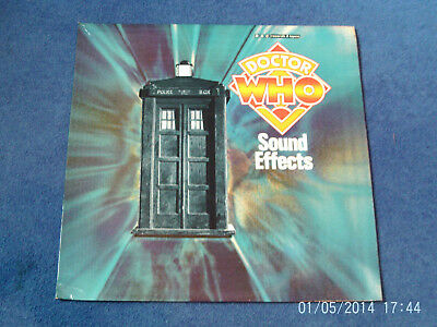 Doctor Who - Sound Effects Mono Lp - Brian Hodgson & Dick Mills - Bbc Records