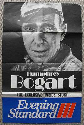 Humphrey Bogart Evening Standard Newspaper, Newsagent Shop Poster