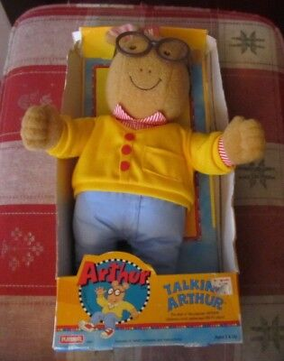 Talking Arthur Plush toy WORKS NEW in package 18 inch