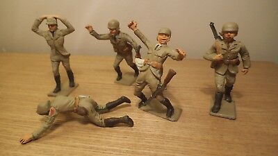 Collection of five Cherilea Afrika Korps