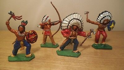 LONE STAR collection of painted indians.