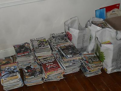 Old Classic Bike Magazine Job Lot x 500 Classic Bike Guide collection Motorcycle