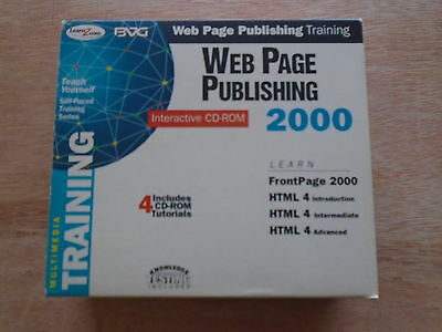 BVG Web Page Publishing 2000 Interactive CD-ROM x 4