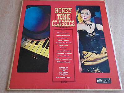 Mr. Happy O'Hallihan: Honky Tonk Classics LP (Allegro) 1964