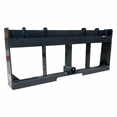 "UA Made in the USA 42"" Pallet Fork & Trailer Hitch Skid Steer Attachment"