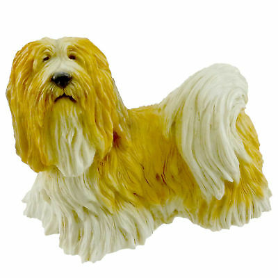 Animal LHASA APSO STANDING Crushed Alabaster Dogs Mans Best Friend 868