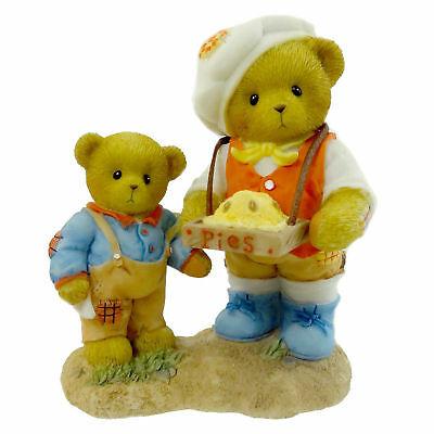 Cherished Teddies VINCENT & REED Resin Teddy Bears Fathers Day 4012280