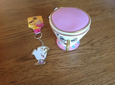 primark beauty and the beast Chip Cup Purse & Chip Keyring