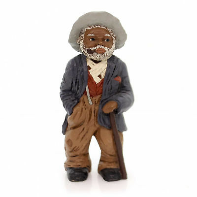 """All Gods Children UNCLE BUD 6"""" Polyresin African American Pipe 1304"""