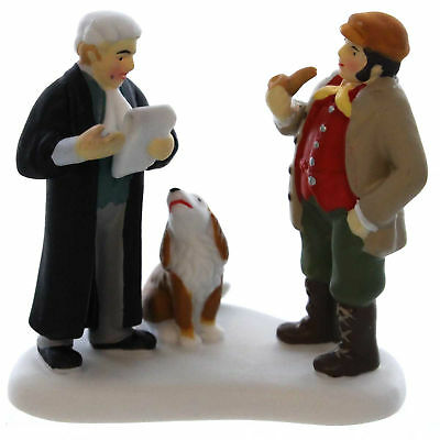 Dept 56 Accessories MINDING VILLAGE BUSINESS Porcelain Dickens' Village 4036516