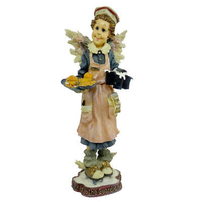 Boyds Bears Resin MS FRIES GUARDIAN OF WAITRESSES Angel Folkstone 28246 GCC