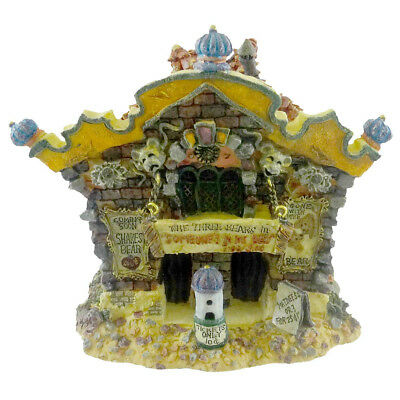 Boyds Bears Resin THE ROXBEARY THEATER Resin Bearly-Built Villages 19017