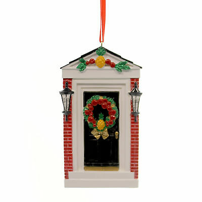 Holiday Ornaments COLONIAL DOOR Polyresin First New Home Christmas 21