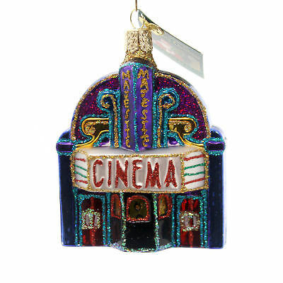 Old World Christmas MAJESTIC THEATRE Glass Entertainment 20072