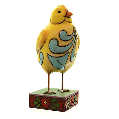 Jim Shore FEATHER YOUR NEST Polyresin Pint Sized Lazy Chick 4047078