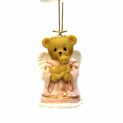 Cherished Teddies HUGS FROM HEAVEN Polyresin 2014 Dated Ornament 4040459