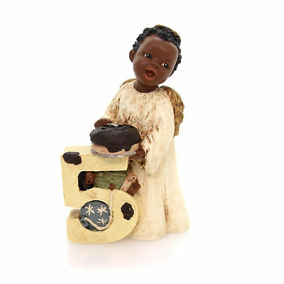 All Gods Children ASIA Polyresin African American Age 5 Black 2705