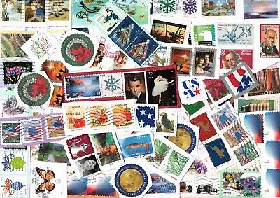 2 lbs KILOWARE MIX FROM THE USA, NEW, OLD, COMMEMORATIVES, DEFINITIVES,UNFRANKED