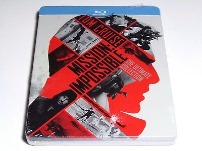 Mission Impossible The Ultimate Collection Blu-Ray Steelbook Import New