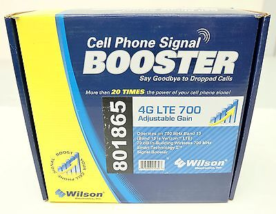 Wilson Cell Phone Booster Signal 271865 801865 4G LTE Adjustable Gain Amplifier