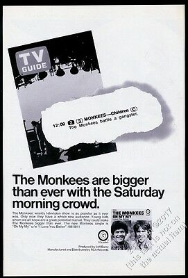 1970 The Monkees Oh My My album release vintage trade print ad