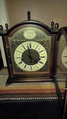 Bulova Tempus Fugit Carriage Style Mantel Clock MADE IN GERMANY- Working