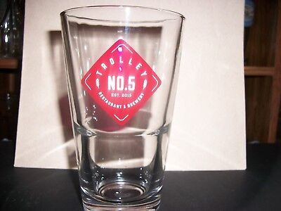 Rare- Trolley No.5- Beer Glass