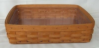 LONGABERGER 2006 EXTRA LARGE HEAVY BASKET WITH THICK PLASTIC Insert #ZZ