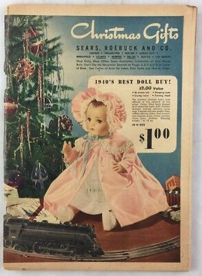 ***Lots of Toys*** 1940s Sears Department Store Christmas Catalog Fashion Dolls