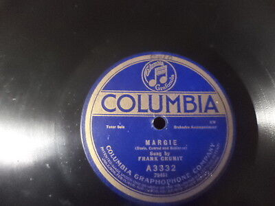 Early 20s COL.78/Frank Crumit-Vocals w.Orch.