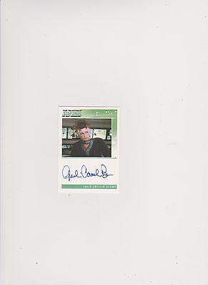 Star Trek Tng Quotable  Autograph Card Julie Caitlin/vekor