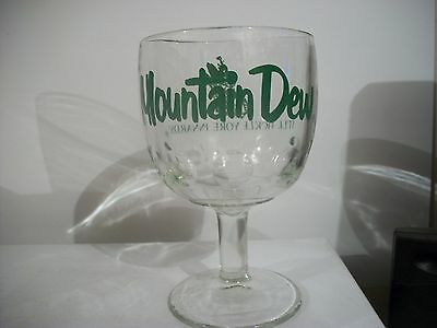 Vintage -Rare- Mountain Dew-'' It'll Tickle Your Innards'' -Glass