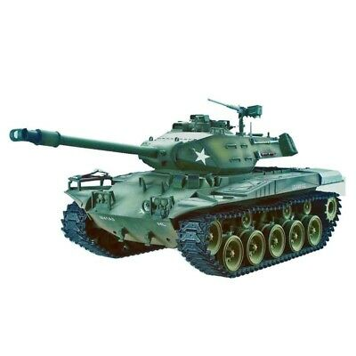 Torro 1:16 CARRO ARMATO RADIOCOMANDATO M41 Walker Bulldog, Catena in metallo