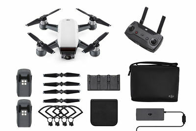 DJI Spark Fly More Combo RC Remote Control Helicopter Quadcopter Camera Drone
