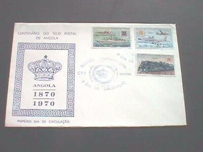 Angola - 1970 First Day Cover (Centenary, 1870-1970)