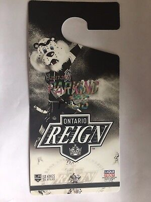 2017-18 Ontario Reign AHL Hockey Season Parking Pass - good for all games!
