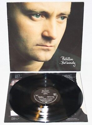 PHIL COLLINS ...But Seriously 1989 German LP genesis vinyl vinilo