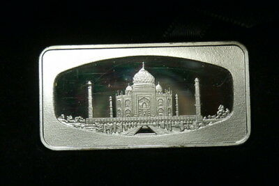 Wonders Of The World Singapore Airlines Ltd Edition Silver Ingot Bar 25.6 Grams