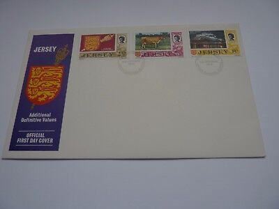 Jersey Definitive Issue 1974 (10) FDC