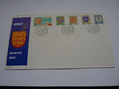 Jersey Definitive Issue 1982 (02) FDC